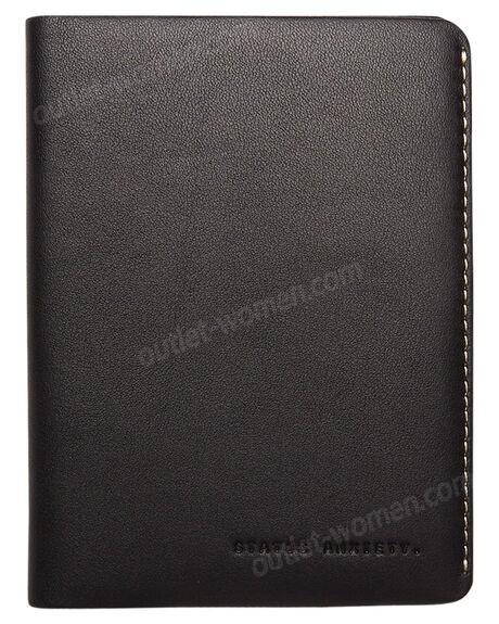 STATUS ANXIETY-Conquest Leather Travel Wallet Promotions - -0