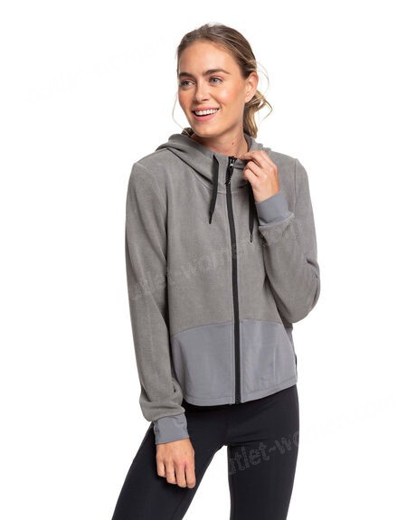 ROXY-Womens Only The Brave Hooded Zip Up Jumper on sale - -0